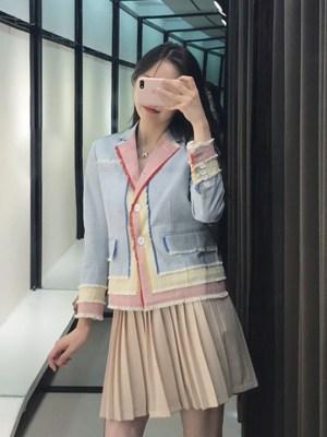 Yoona Tricolor Cute Jacket (5)