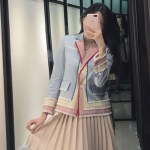 Tricolor Cute Jacket | Yoona – Girls Generation