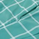 Ruffled Sleeveless Green Tartan Dress | Dahyun – Twice