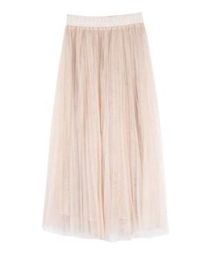 IU Cute Lace Ruffled Skirt (1)