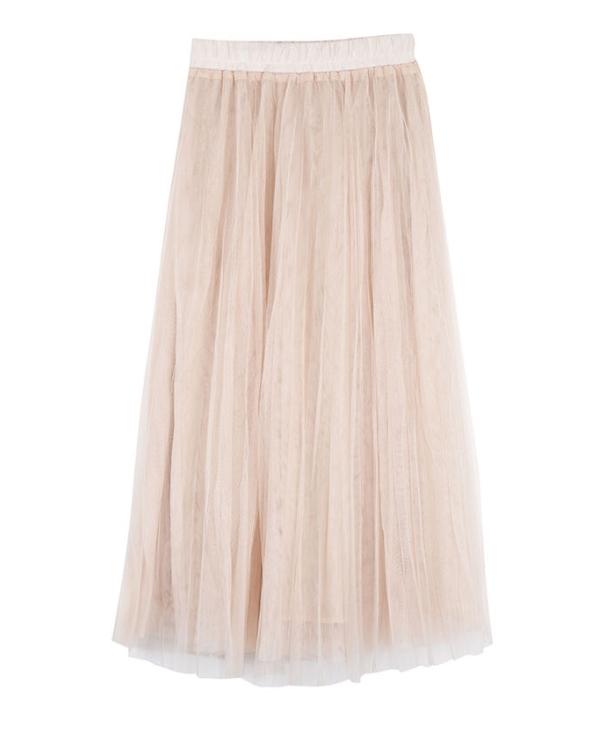 Cute Lace Ruffled Skirt | IU
