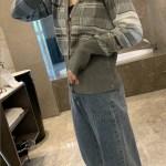 Rocky Shelter Grey Tartan V-Neck Cardigan | Suga – BTS