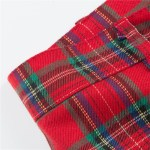 Red High Waist Casual Pants | Taehyung- BTS