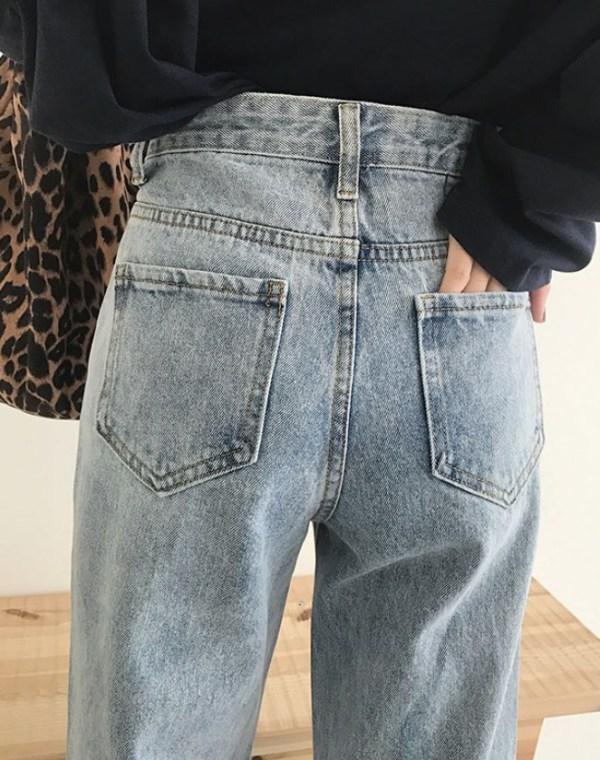 White Pocket Straight Pants | Hyuna