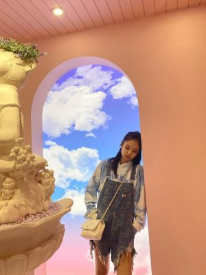 Denim Ripped Jumper Overall | Jennie – BlackPink