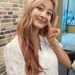 Puff Sleeve White Lace Shirt| Jihyo – Twice