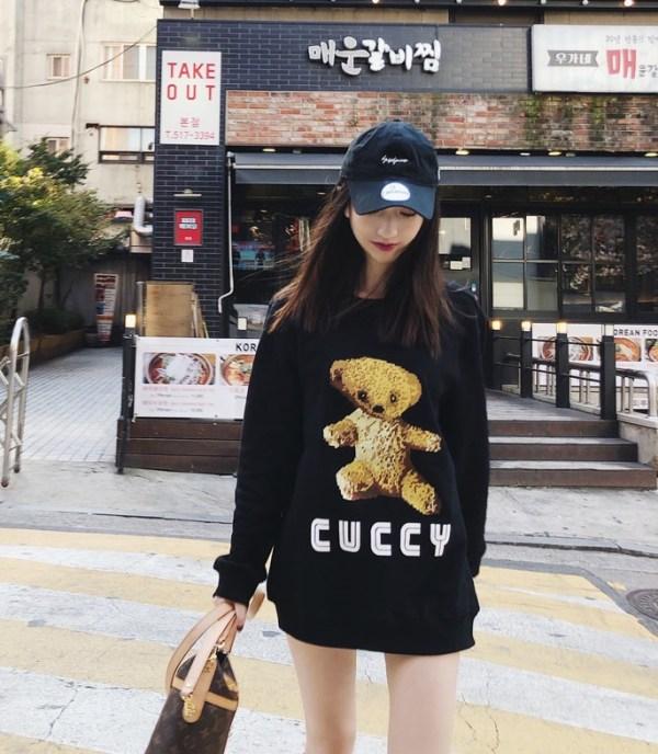 Bear Embroidered Sweater | Kai – EXO