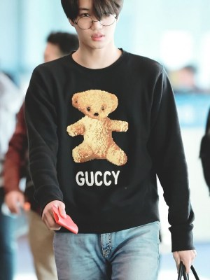 Bear Embroidered Sweater | Kai – EXO