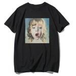 Baby Face Print Oversized T-Shirt | Lisa -BlackPink