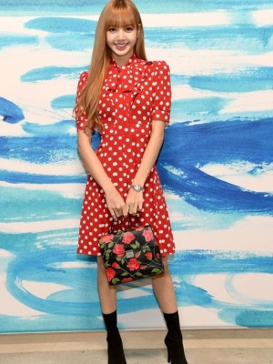 Red Polka Dot Dress | Lisa – Blackpink