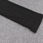 One Side Off-Shoulder Black Crop Top | Lisa – BlackPink