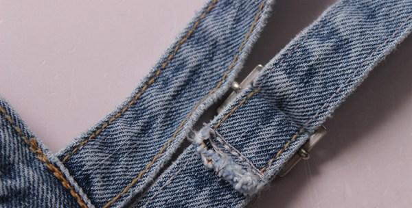 Denim Suspender Top | Rose – Blackpink