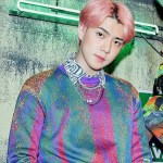 Multicolored Wool Sweater | Sehun-EXO