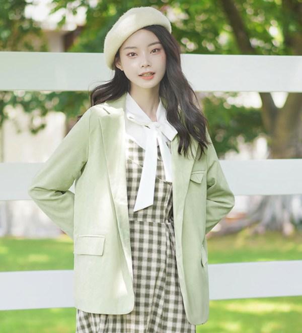 Fresh Green Light Jacket