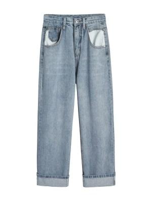 Hwasa – Mamamoo Wide-Leg Denim Jeans (28)