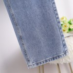 Wide-Leg Denim Jeans | Hwasa – Mamamoo