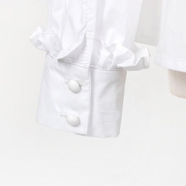 White Ruffled Blouse   IU – Hotel Del Luna