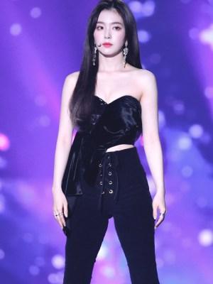Black High Waist Tie Fit Pants   Irene – Red Velvet