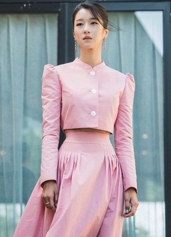 Long Pink Skirt  | Ko Moon‑Young – It's Okay Not To Be Okay
