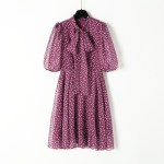 Wine Red Polka Dot Dress | Ko Moon‑Young – It's Okay Not To Be Okay