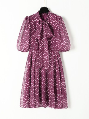 Ko Moon‑Young – It's Okay Not To Be Okay Wine Red Polka Dot Dress (4)