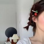 Cute Beaded Fruit Hairpin | Lisa – BlackPink