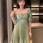 Silky Matcha Green Dress | Miyeon – (G)I-DLE