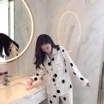 Polka Dot Designed Pajama Set | Taehyung- BTS