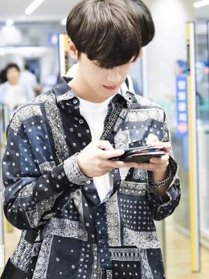 Bandana Print Shirt   Ten – NCT