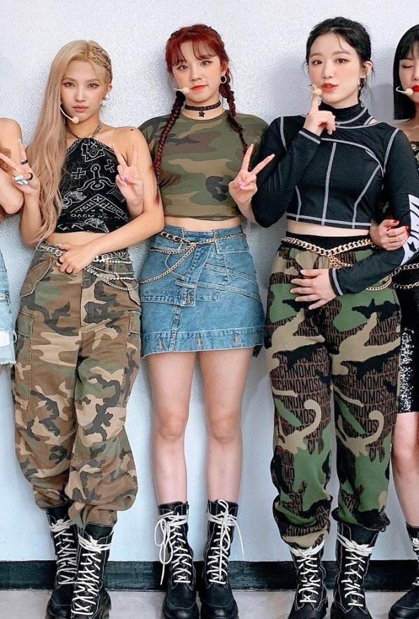 Deconstructed Denim Skirt | Yuqi – (G)I-DLE