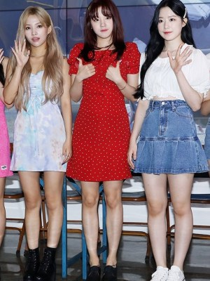 Red Summer Dress| Yuqi – (G)I-DLE