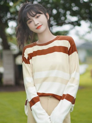 Brown And Beige Sweater (3)