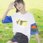 Graphic Designed Sleeves T-Shirt