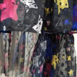 Asymmetrical Star Print Skirt | Hyuna