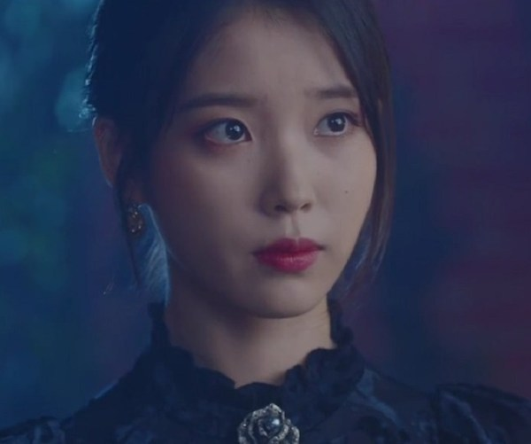Black Flared Sleeve Top | IU – Hotel Del Luna