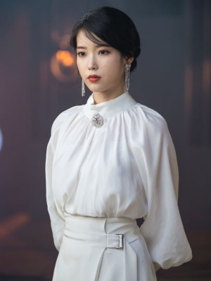 Pearl Rhinestone Tassel Earrings | IU – Hotel Del Luna