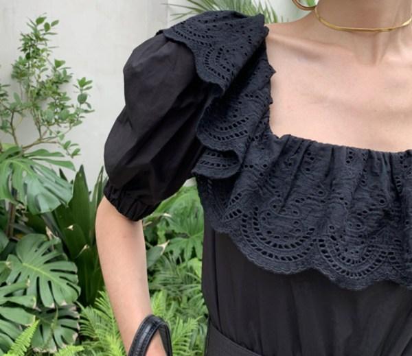 Black Poplin Belted Jumpsuit | Jisoo – BlackPink