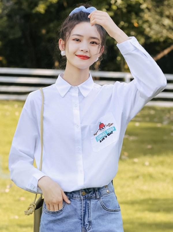 Jungle Trap Pocket Designed Shirt