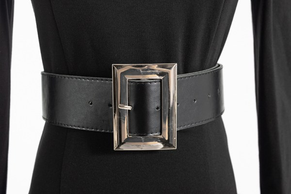 Black Belted Bodycon Dress | Ko Moon‑Young – It's Okay Not To Be Okay