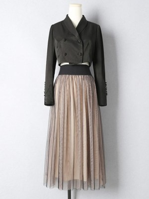 Ko Moon‑Young – It's Okay Not To Be Okay Double Toned Tulle Skirt (11)