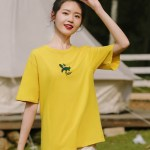 Yellow T-Shirt With Alligator