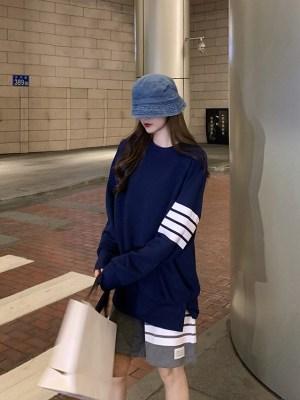 BamBam – GOT7 Dark Blue Sweatshirt (20)