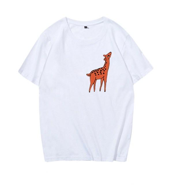 Deer Printed T-Shirt | Jimin – BTS