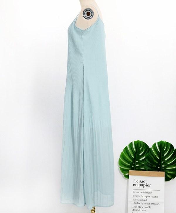 Blue Sleeveless Dress | Hyuna