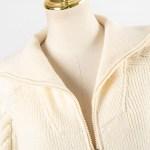 Knitted Beige Jacket   IU