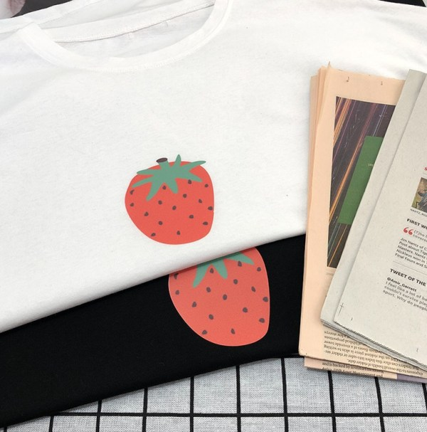 Strawberry Printed T-Shirt | Jackson – GOT7