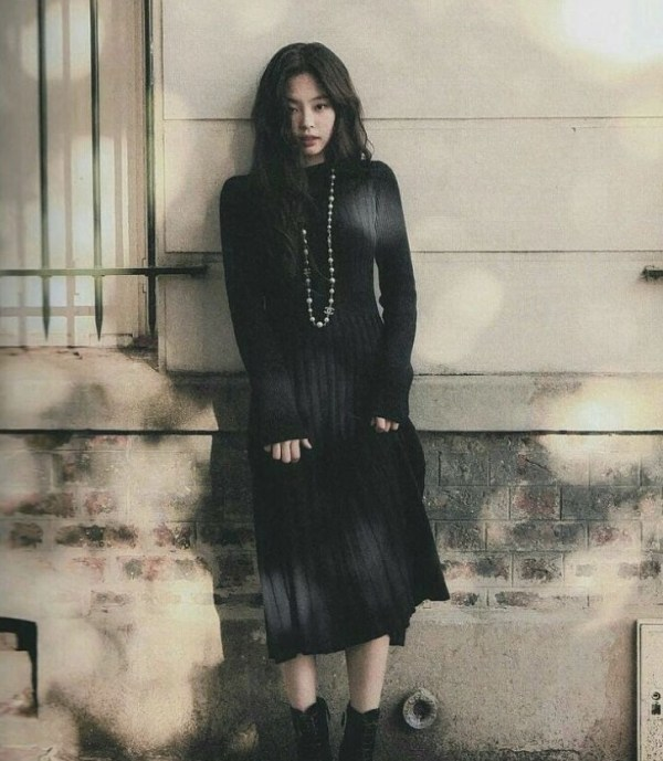 Black Knitted Dress | Jennie – BlackPink