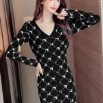Black Moon Printed Dress   Jennie – BlackPink