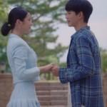 Blue Pleated Tweed Skirt   Ko Moon‑Young – It's Okay Not To Be Okay