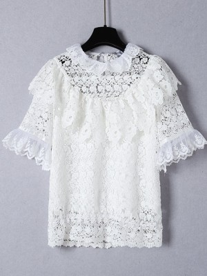 Ko Moon-Young Delicate Lace Embroidered Top (3)